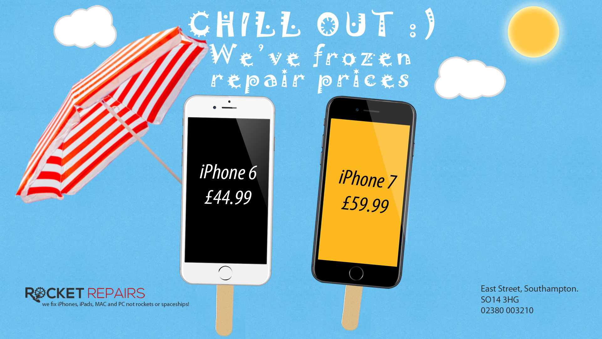 iphone repair southampton